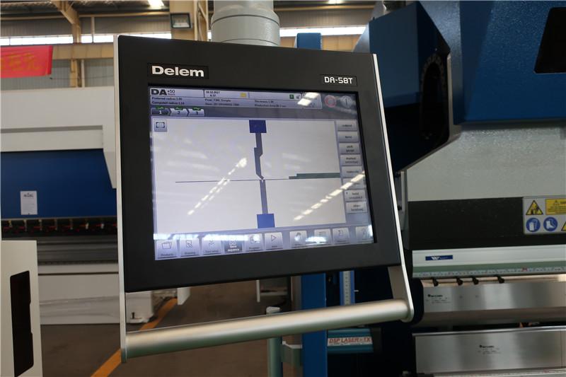 Del DA58T 2D CNC-system