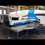 30 tons CNC servo hydraulisk turret punch presse