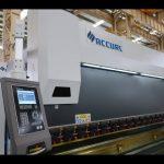 4 akser CNC trykbremse maskine 175 tons x 4000 mm CNC motoriseret kranning