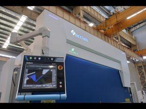 8-akse CNC hydraulisk trykbremse 110 ton 3200mm