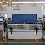 WC67K 500T / 4000mm cnc hydraulisk rustfrit stål pressebremse, høj effektivitet plademetal bøjemaskine
