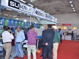 Accurl deltog i indiske udstilling i 2016