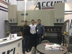 Accurl deltog i den amerikanske udstilling i 2017