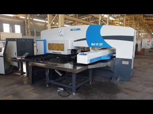CNC servostyret ramturret punch presser 50 tons til servo cnc stansemaskine