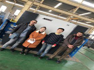 Egypten Kunder Køb Press Bremse Machine Fra Accurl Companies