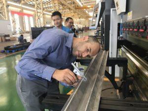 Iran Client Testing Machine i vores fabrik 2