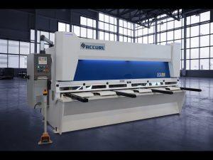 Master hydrauliske guillotinskærer MS8 3206 med ELGO P40T berøringsskærm CNC system