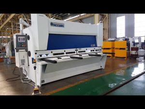 Master variabel rake guillotin skære maskine med ELGO P40T CNC system