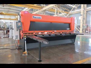 Master variabel rake med CNC hydrauliske guillotinskærer MS8-10x4000mm