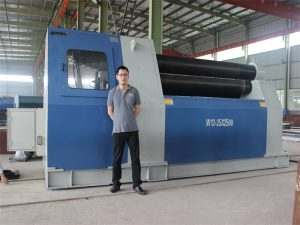 Thailand Kunder Køb W12 Rolling Machine fra Accurl Company