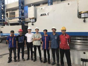 Indonesiens delegation kom til at besøge vores fabrik