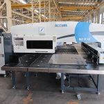 MAX-SF-30T hydraulisk stansning presse maskine cnc fanuc system turret stansemaskine med amada værktøjer maskiner fremstilling