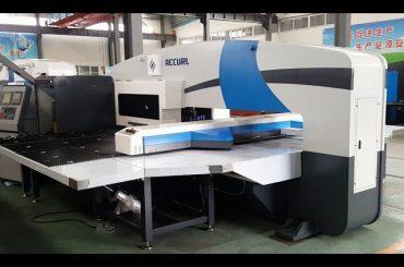 cnc punch presse producenter - tårn punch presser - 5-akse cnc servo stansemaskiner