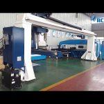 Gantry stil 5-akse cnc trykbremse robot bøjning / turret punch tryk