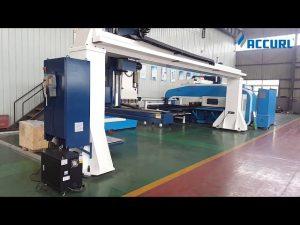 gantry stil 5-akse cnc trykbremse robot bøjning / turret punch presse
