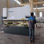 forfremmelse WC67Y hydraulisk metal pressebremse, bøjemaskine til aluminium profil