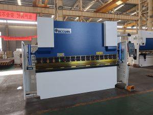 200tons trykbremse maskine, hydraulisk manuel bøjemaskine
