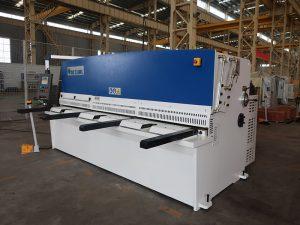 høj skæringsnøjagtighed QC12Y 4x2500 plademaskinskærende maskin stålplade hydraulisk skæreautomat