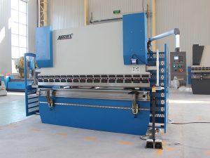 Wc67y 40t china lavet mappe manuel foldemaskine hånd betjen pressebremse, bøjningsmarchine på lager