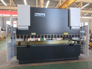 sikkerhed brugt NC pressebremse service stålbøjemaskine 80T 2500mm WC67K