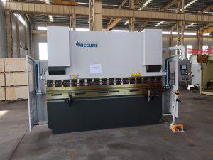 ESTUN E21 Bredt eksporteret WC67K 160T / 3200 stålplade bøjningsmaskine trykbremse pris 3 meter bøjemaskine